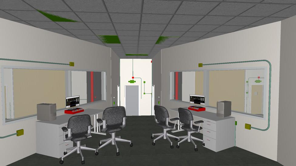 Dynamometer Control Room