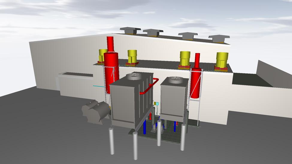 Exterior Dynamometer Testing Facility