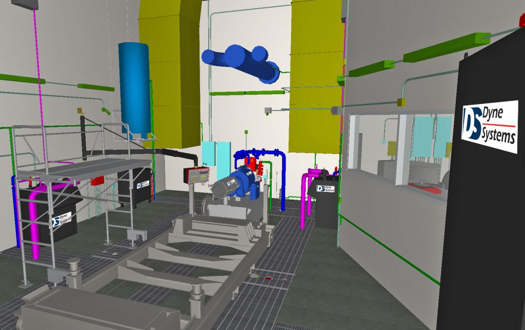 Dynamometer Test Cell
