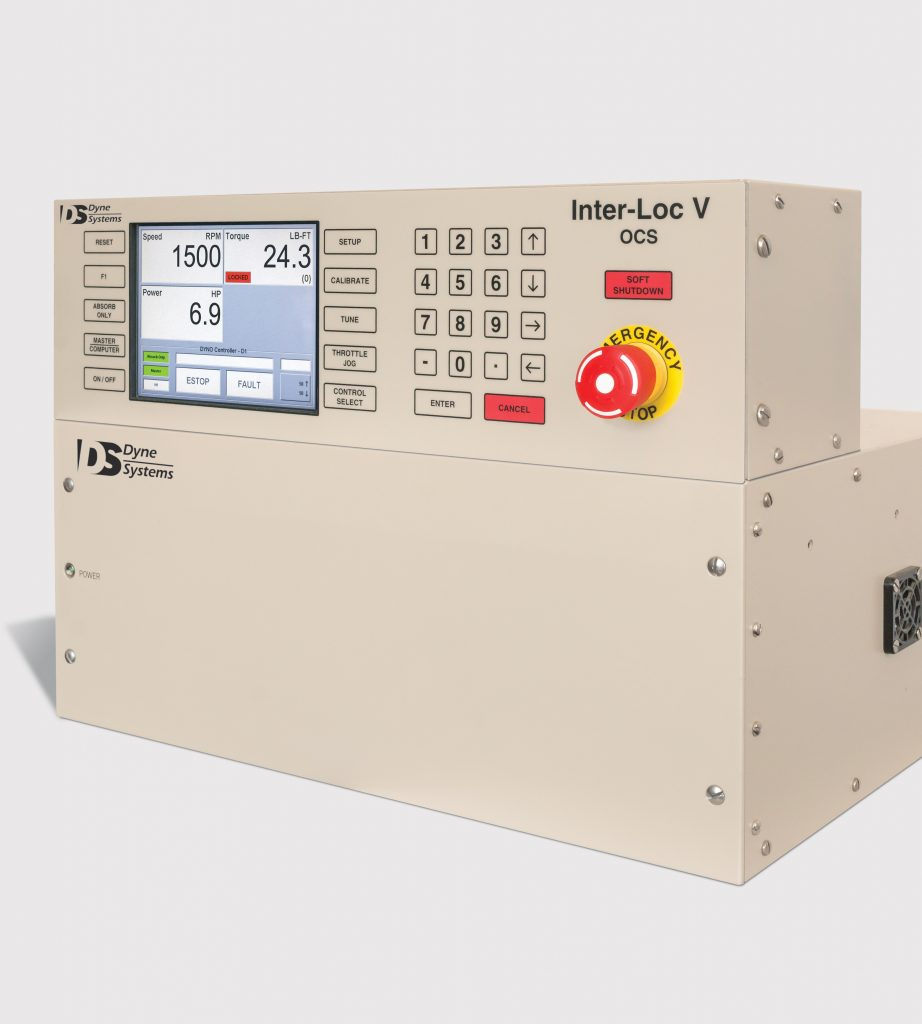 Inter-Loc V Dynamometer and Throttle Controller
