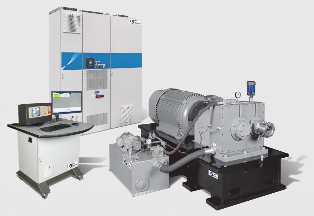 AC Dynamometer with Gearbox Solution