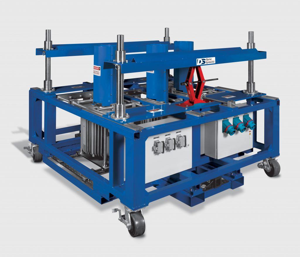 Custom Mower Deck AC Dynamometer Test Stand