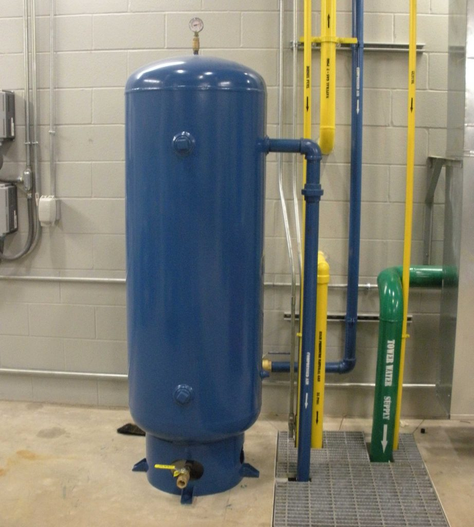 Dynamometer Air Storage Tanks