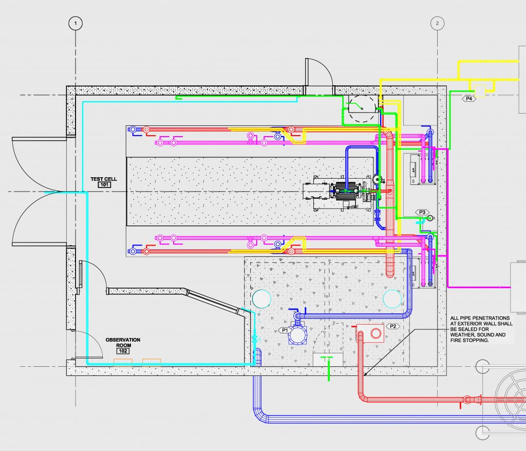Dynamometer Dyno Support Dyne Systems Book Wiring Observation Room Design Project And Construction Management Services