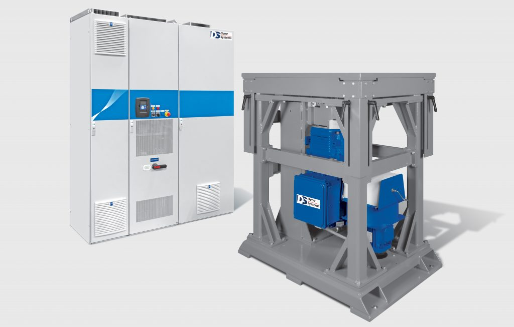 Vertical AC dyno for Electric Motor Testing