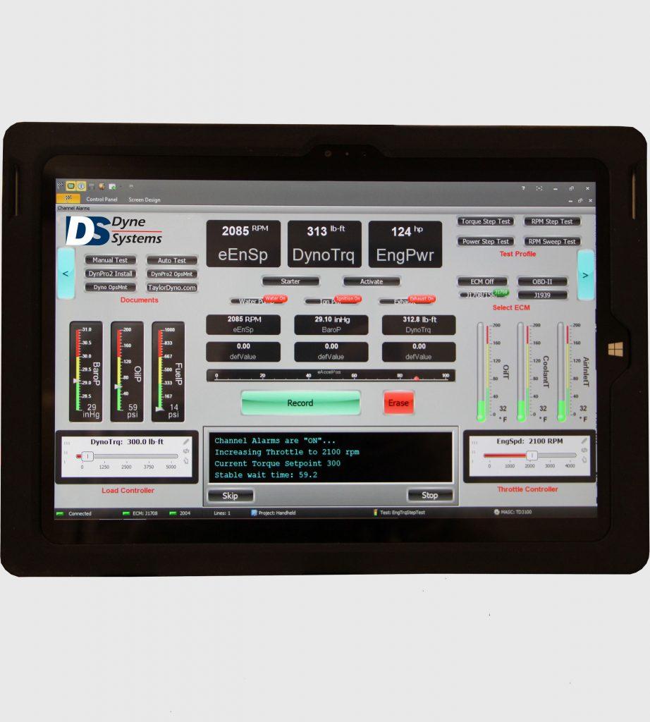 Dynamometer Handheld Tablet