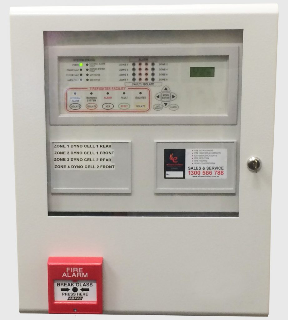 Supervisory Fire Panel