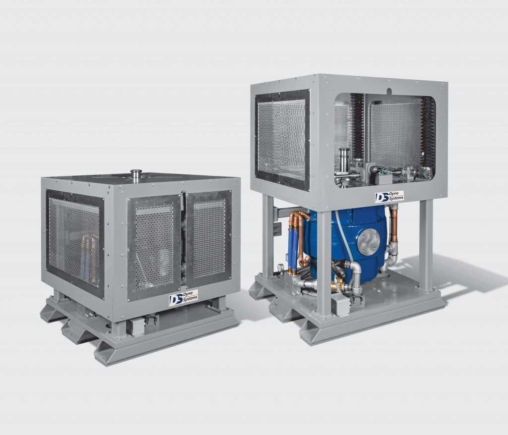 vertical eddy current dynamometer